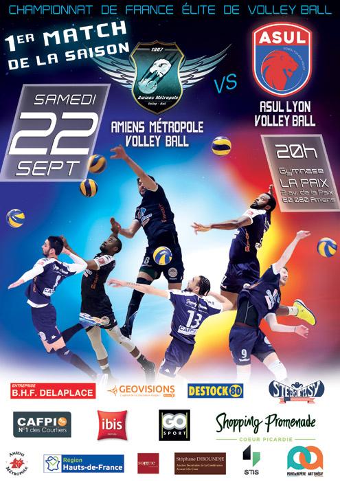 AMVB - Match Élite saison 2018-2019