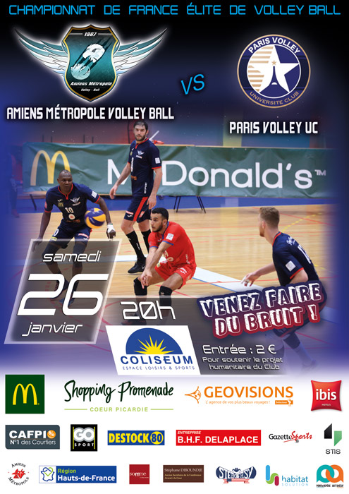 AMVB - Match Elite - Saison 2018-2019