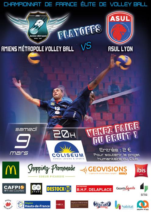 AMVB Amiens Métropole Volley Ball - Playoffs 2019