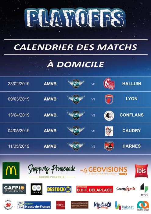 AMVB - Championnat Elite - Saison 2018-2019