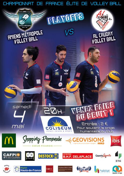 AMVB / AL CAUDRY - Championnat Élite - Saison 2018-2019 - Playoffs journée 9