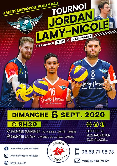 Amiens Métropole Volley Ball - Tournoi de rentrée du club